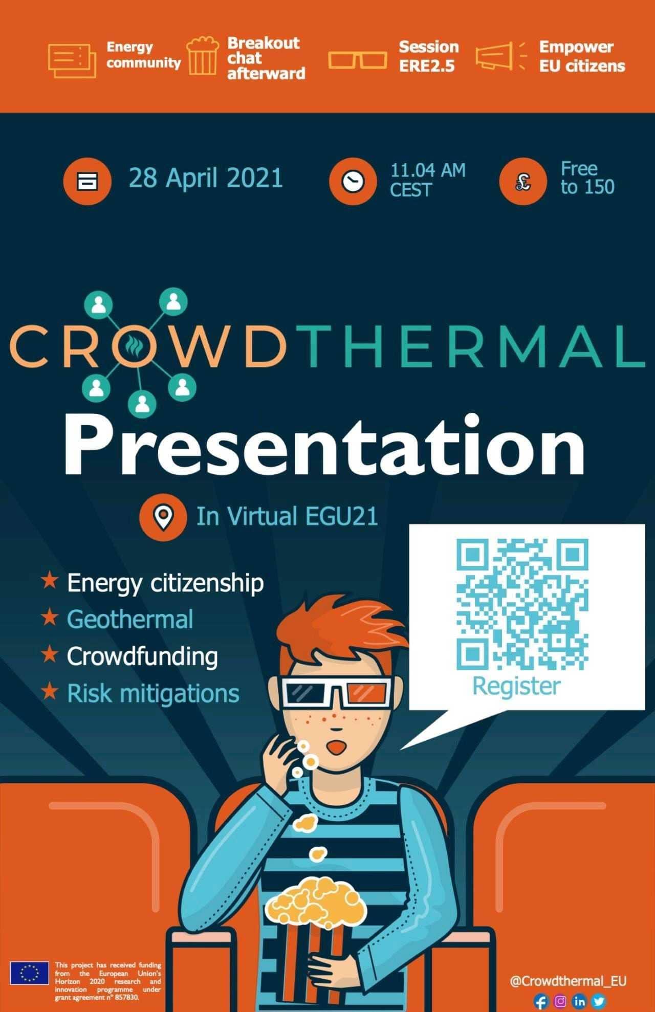 Crowdthermal presentation vEGU21 geothermal project